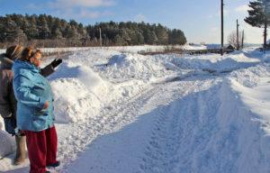 Проблемные дороги в п. Новая Уфа г. Нязепетровска