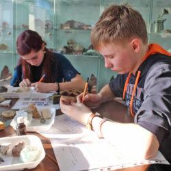 Юные геологи из Нязепетровска