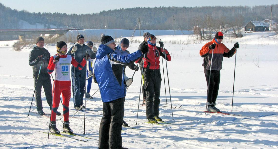 «Лыжня России» в с. Шемаха Нязепетровского района