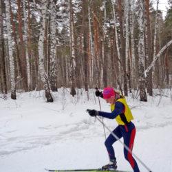 Лыжники из Нязепетровска на соревнованиях