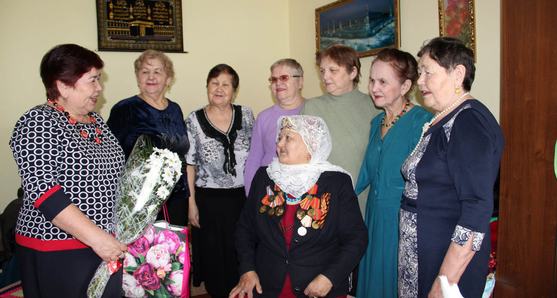 Жительница Нязепетровска Галима-апа Ишбулатова