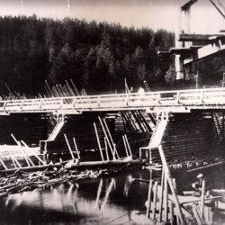 Мост в Нязепетровске, 1927 год