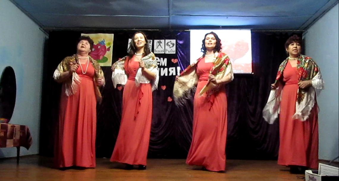 Концерт в д. Ташкинова Нязепетровского района