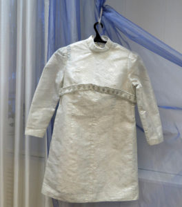 Свадебное платье жительницы Нязепетровска Н. С. Супрунович