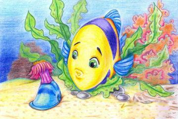 Художественная мастерская РДК объявила о начале конкурса детского рисунка