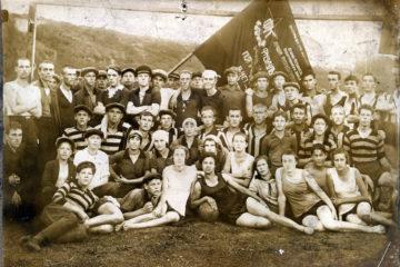 Участники спартакиады в Нязепетровске. 1925 год