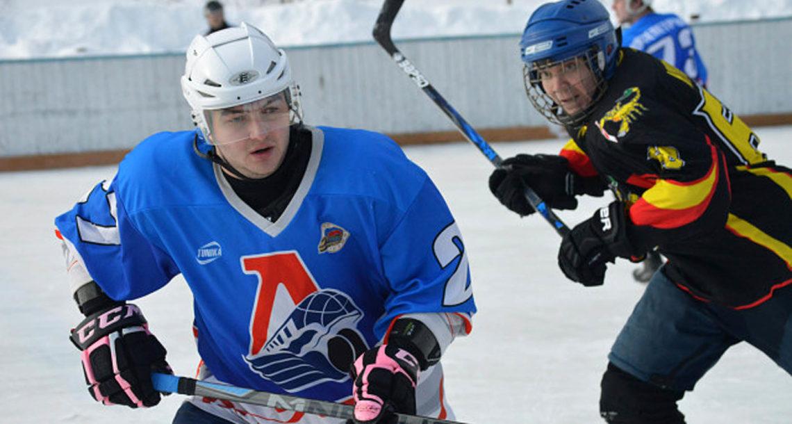 Хоккеисты из Нязепетровска