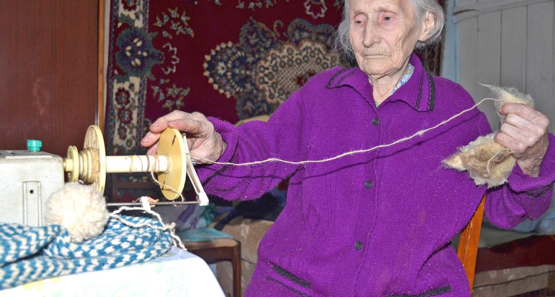 Е.П. Чепланова, 100-летняя жительница д. Ситцева Нязепетровского района