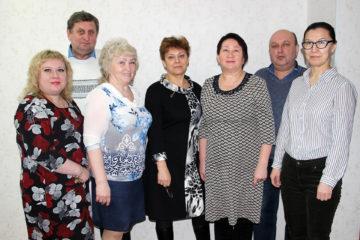 Сотрудники управления ЖКХ Нязепетровского района