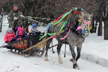 Масленичные гуляния в Нязепетровском районе