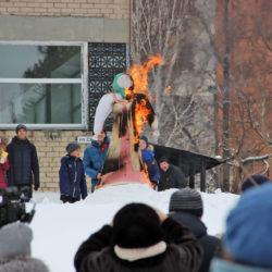 Проводы зимы в Нязепетровске