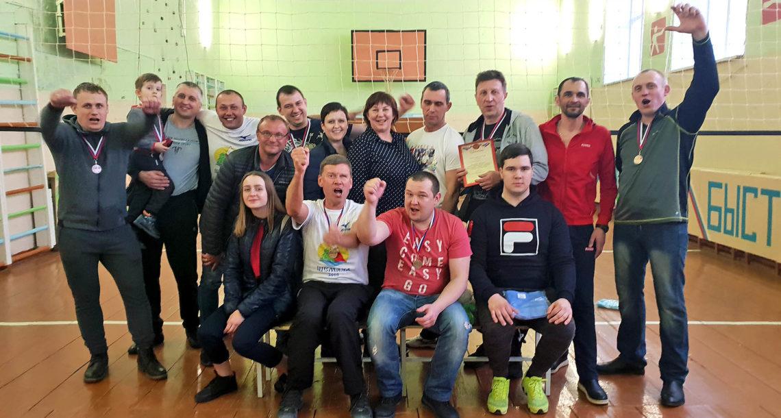 Волейбольный турнир в с. Шемаха Нязепетровского района