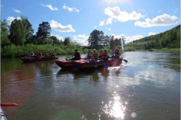 Сплавы по рекам Нязепетровского района - популярное развлечение