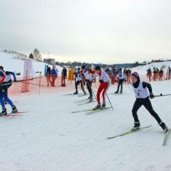 Лыжные гонки в Нязепетровске