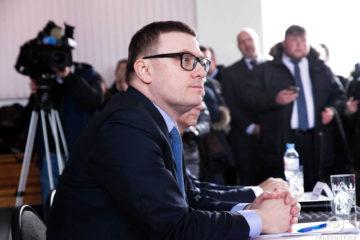 Врио губернатора Челябинской области А. Текслер