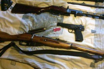 Незаконное хранение оружия попадает под статью УК