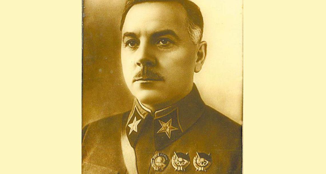 К.Е. Ворошилов в Нязепетровске