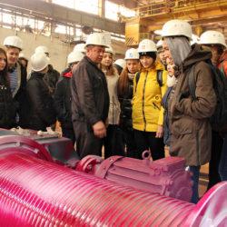 Школьники из Нязепетровска на экскурсии в ООО «ЛМЗ»