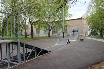 Рампа в Нязепетровске ждёт любителей экстремального спорта