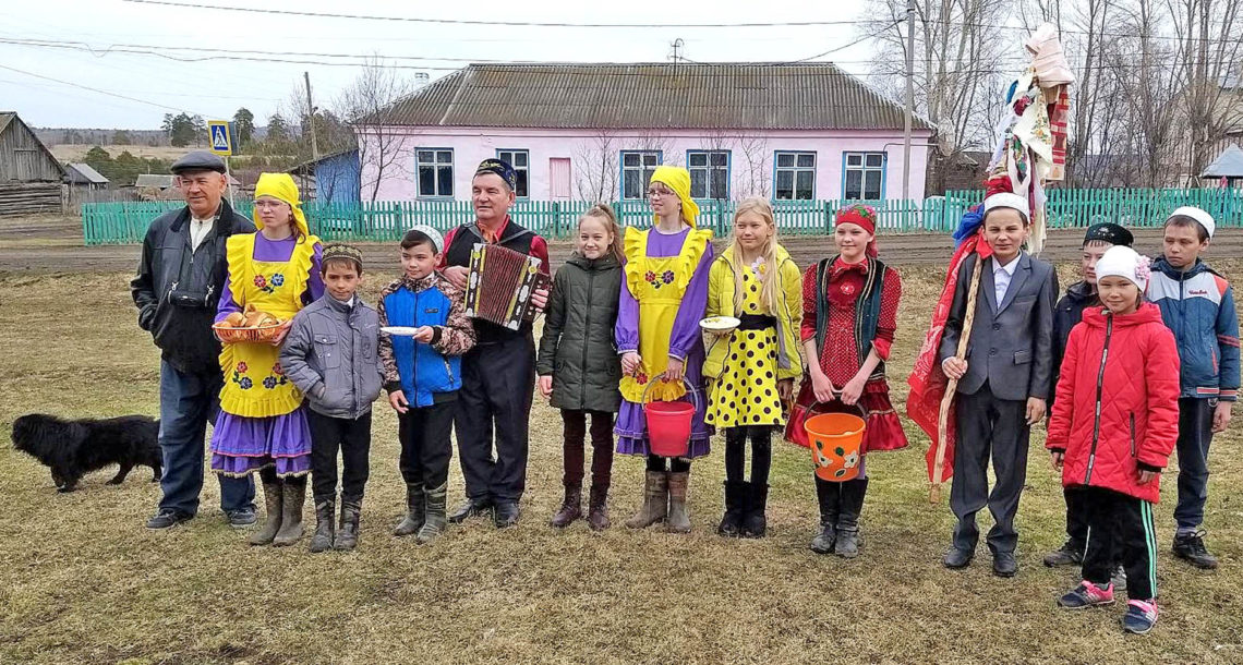 Сабантуй в д. Аптрякова Нязепетровского района
