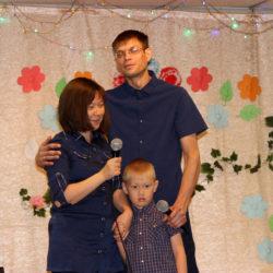 Первый конкурс «Молодая сельская семья» в с. Ункурда