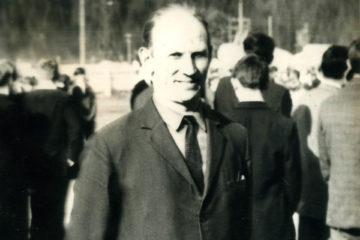 И.Е. Воронов, один из старейших мастеров КПГТ