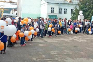 Митинг на ООО «ЛМЗ» г. Нязепетровска