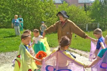День защиты детей в д. Ситцева Нязепетровского района