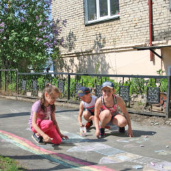 С каждым годом асфальтированных территорий в Нязепетровске становится больше