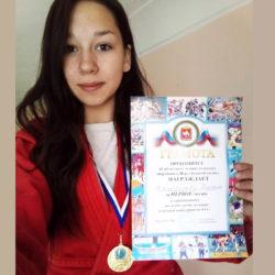 К. Искандарова стала чемпионкой по самбо