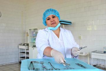 В. В. Тажитдинова, медсестра ЦРБ г. Нязепетровска
