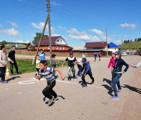 Спортивный праздник в с. Арасланово Нязепетровского района