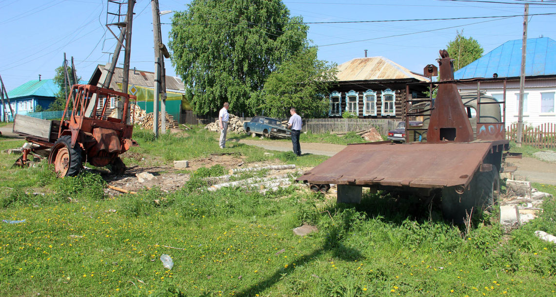 Первый рейд по благоустройству в Нязепетровске