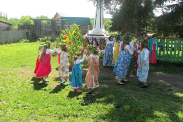 праздник в д. Ташкинова Нязепетровского района