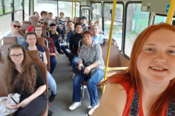 Ученики СОШ №27 г. Нязепетровска на экскурсии по СПЭСВТВ