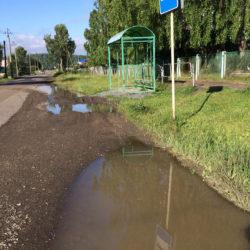Лужа в Нязепетровске