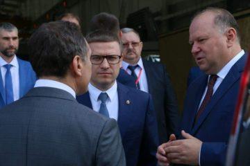 А.Текслер и Н.Цуканов обсудили реализацию нацпроектов