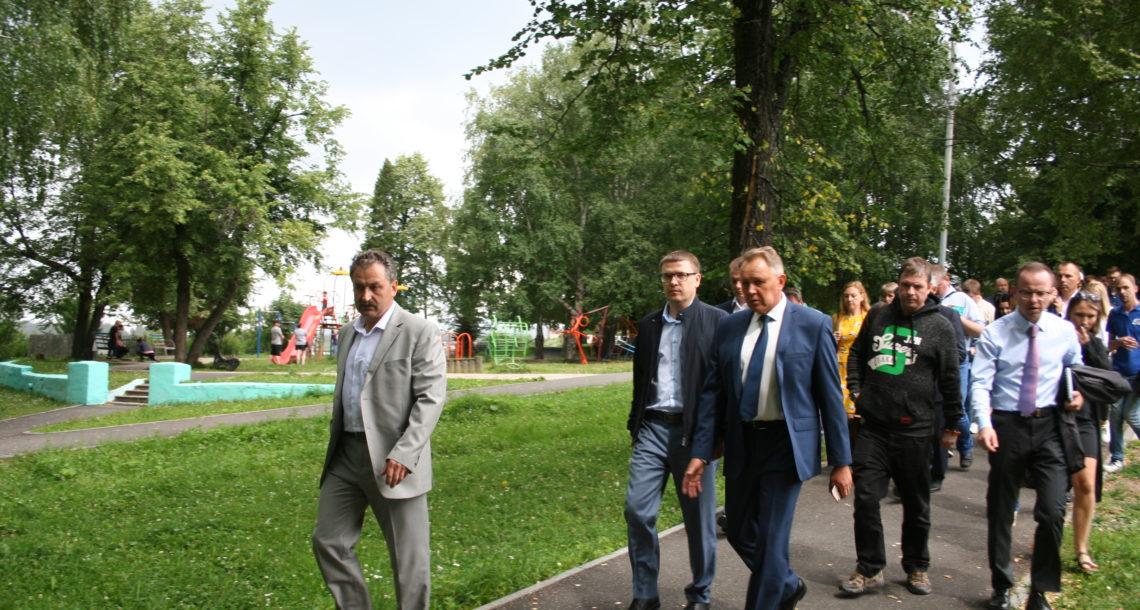 А. Текслер в Нязепетровске