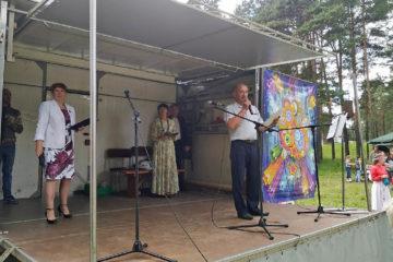 В.М. Леонов в д. Ситцева Нязепетровского района