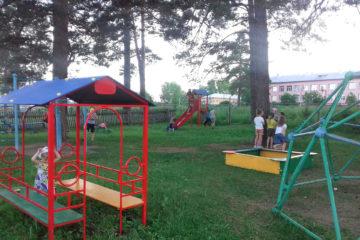 Новая детская площадка в д. Ситцева Нязепетровского района
