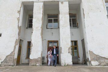 А. Текслер в больнице Нязепетровска