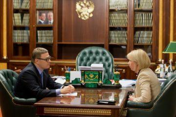 И. Гехт вернулась в Челябинскую область по предложению Текслера