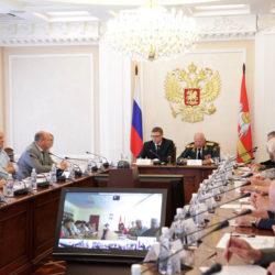А. Текслер на совете ветеранов Челябинской области