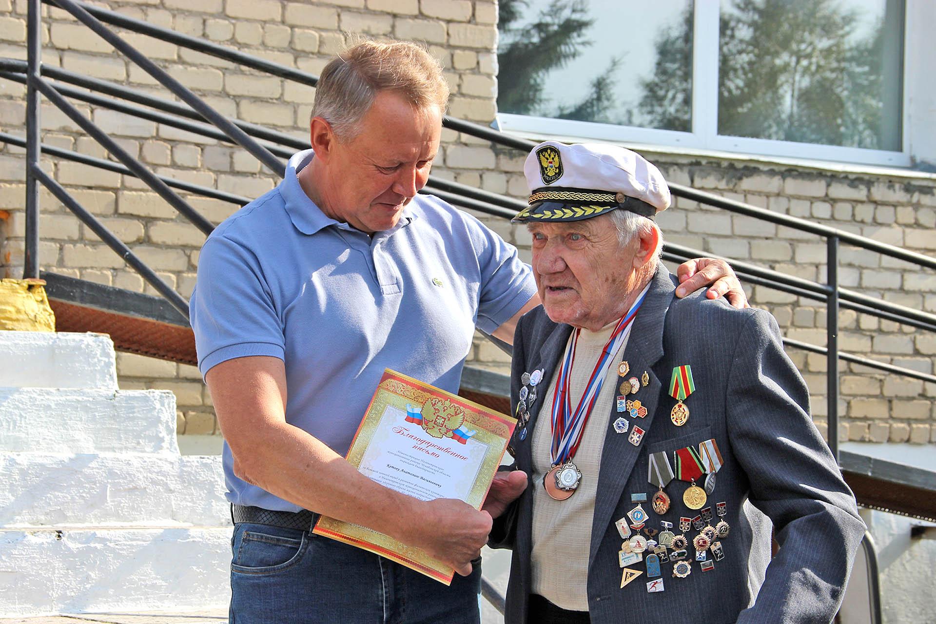 Ветеран спорта А.В. Кетов из Нязепетровска