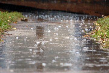 Сильные дожди идут на Южный Урал