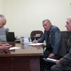 О.А. Голиков провел прием жителей Нязепетровска