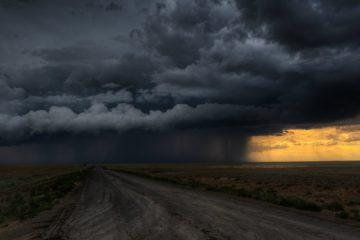 Сильные дожди ожидаются на Южном Урале