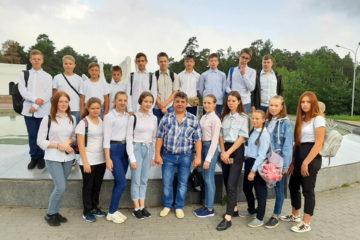 Юные железнодорожники из Нязепетровска