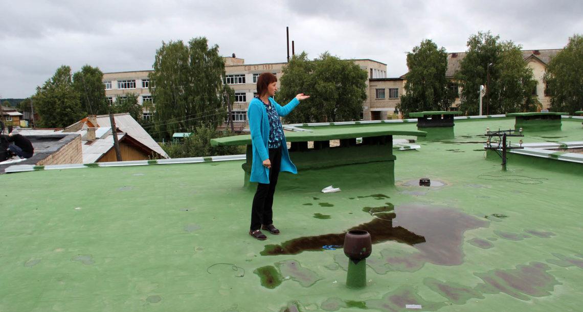 В детском саду «Улыбка» - новая крыша