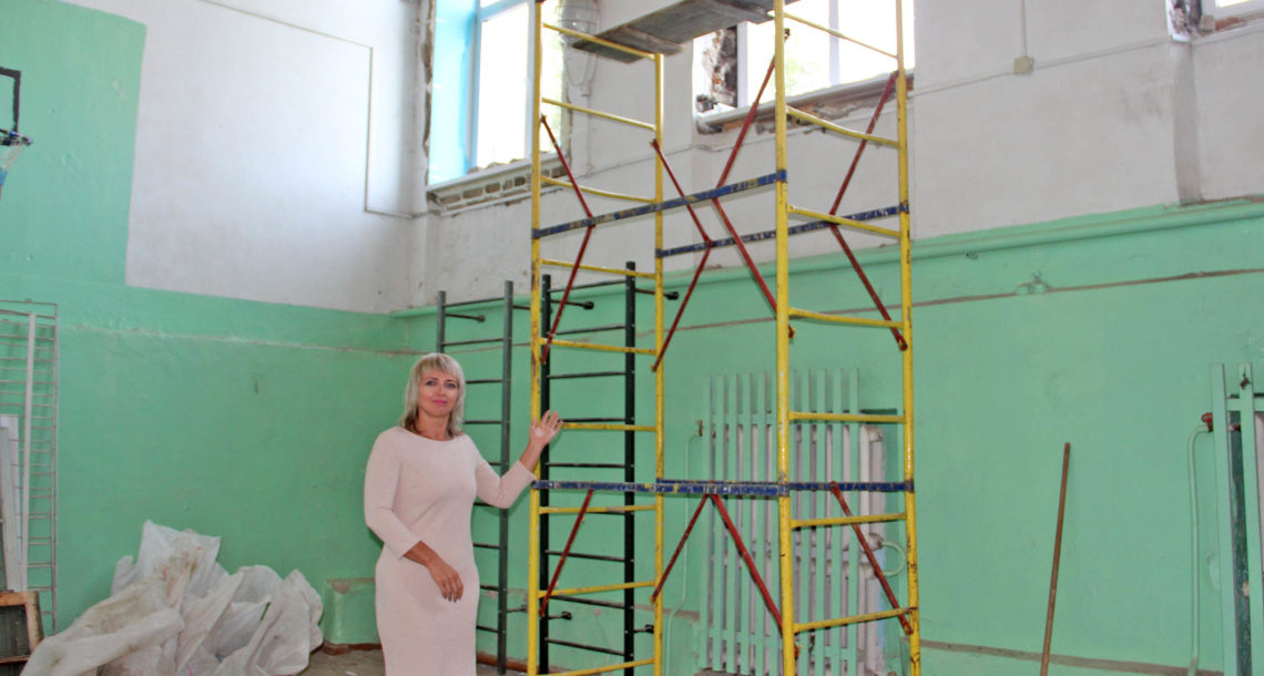 Новые окна в СОШ №2 г. Нязепетровска
